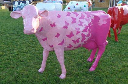 Image of the Kissypuppy - Butterflies Cow