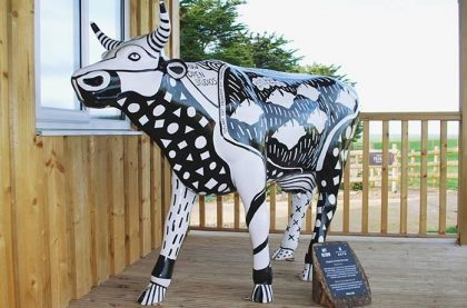 Image of the Isle of Wight Open Studios – Cow Art Cow