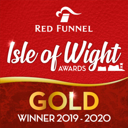 Red Funnel Isle of Wight Awards Gold Winner Best Large Attraction and Best Green Business