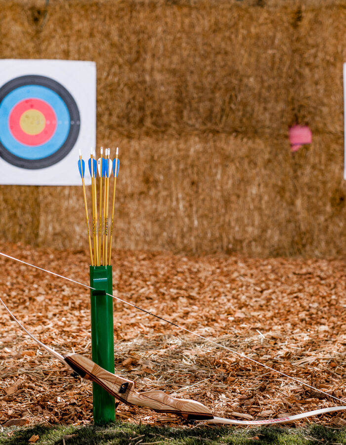 Tapnell Farm Archery Axe Throwing targets