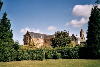 Image of the Quarr Abbey, Fishbourne Cow