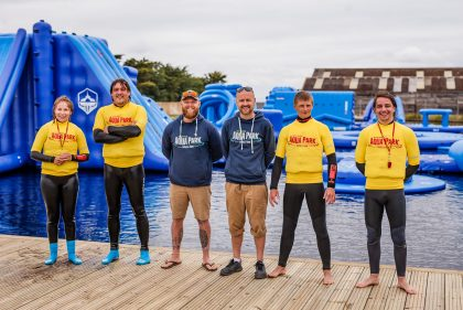 IOW Aqua Park Meet the team