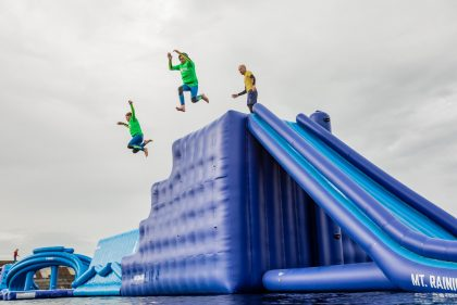 IW Aqua Park at Tapnell Farm Mount Rainer