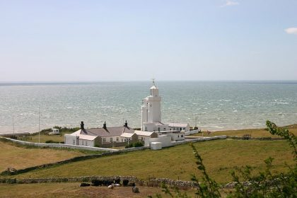 Image of the St Catherine's Lighthouse, Niton Cow