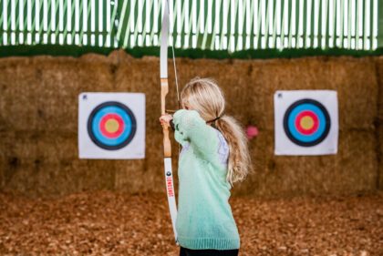 Tapnell Farm Archery take aim