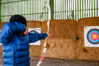 Tapnell Farm archery 2