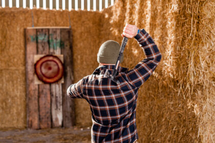 Tapnell Farm axe throwing