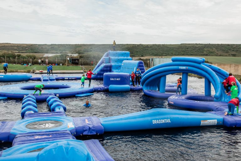 IW Aqua Park at Tapnell Farm