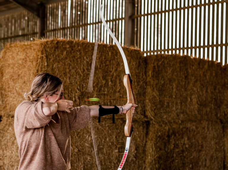 Tapnell Farm Archery lady 1