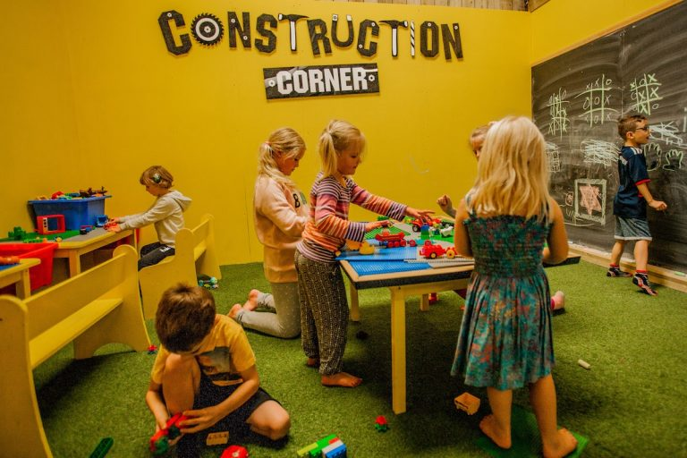 Tapnell Farm Park Indoor Play Lego Construct