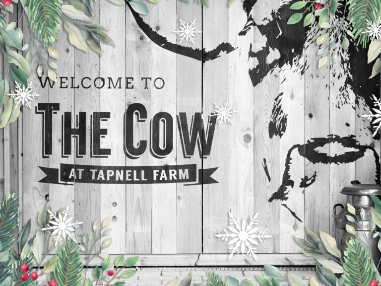The Cow Christmas Voucher Card