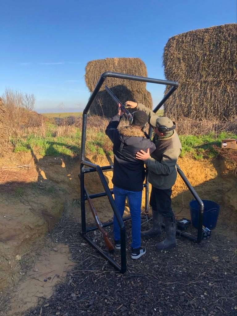 Top Targets clay pigeon shoot at Tapnell Farm