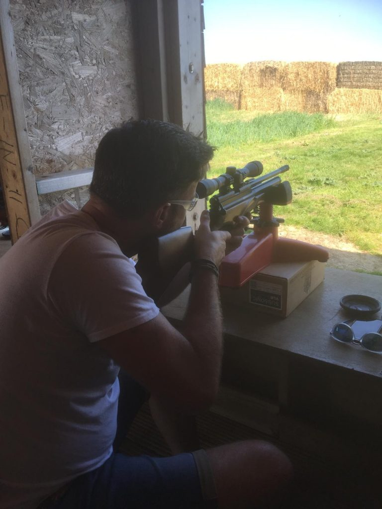 Top Targets rifle shooting Tapnell Farm